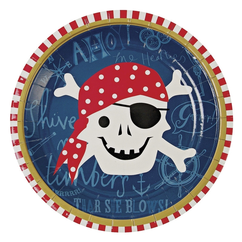 Ahoy piraten bordjes