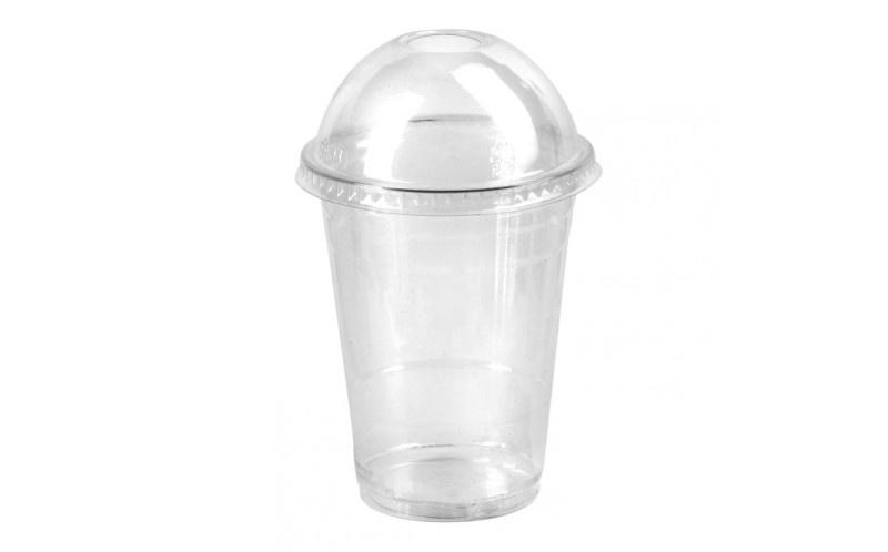 Transparent dome cups
