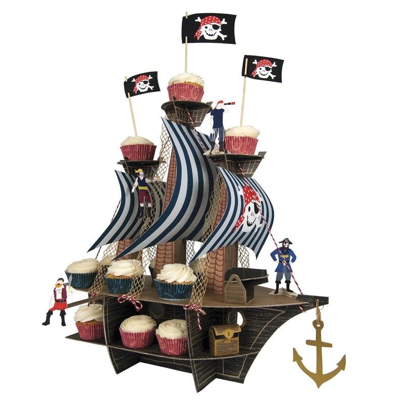 Centerpiece Ahoy piratenschip