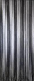 Sun-Arts Palermo vliegengordijn model 596 kunststof gordijn transparant/grijs 100 x 232 cm