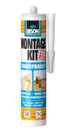 MONTAGEKIT TRANSPARANT KOKER 310 G WIT (TRANSPARANT NA DROGING)