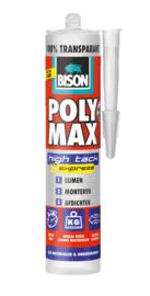 POLY MAX® HIGH TACK EXPRESS TRANSPARANT KOKER 300 G TRANSPARANT