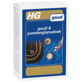 HG goud & juwelenglansdoek Dé goud poetsdoek voor schitterende reiniging
