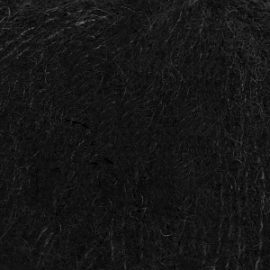 Brushed Alpaca Silk 16 Zwart