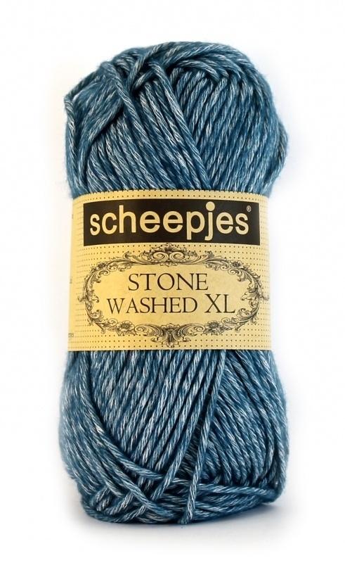 Stone Washed XL 845 Bleu Apatite