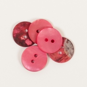 605 Rond (rood) 15mm
