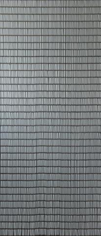 Sun-Arts vliegengordijn model 84 hulzengordijn transparant 100 x 232 cm