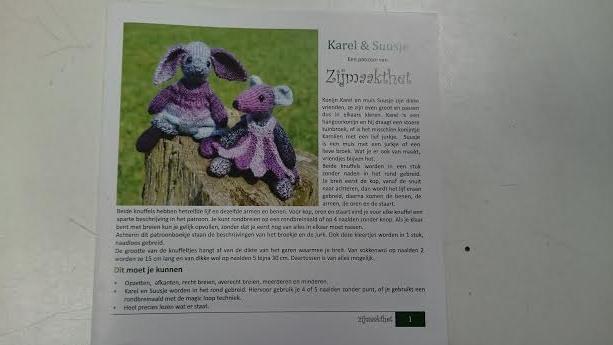 Patroon zijmaakthet Karel & Suusje