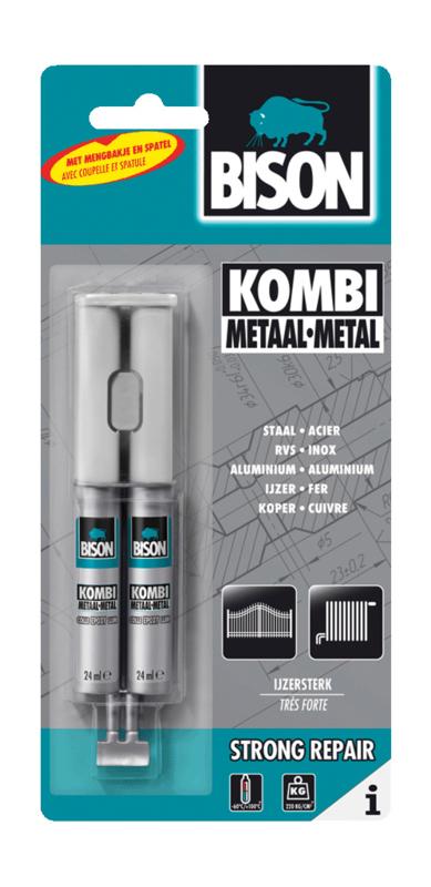 KOMBI METAAL DUBBELSPUIT 24 ML (BLISTER)