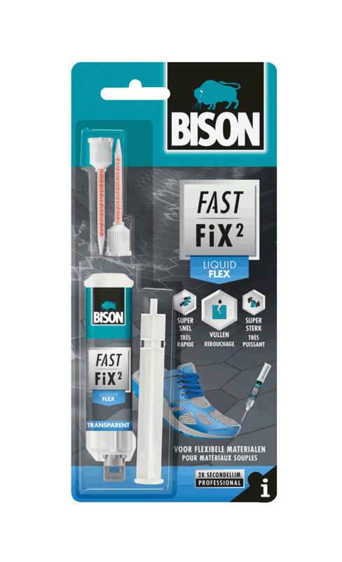 FAST FIX² LIQUID FLEX DUBBELSPUIT 10 G (BLISTER)