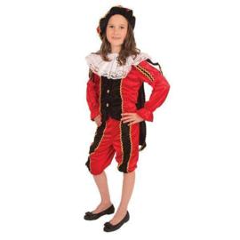 Pieten meisje Velours luxe kostuum