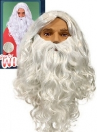 Sinterklaas baard student