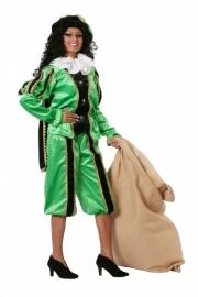 Pietenpak dames zwart en groen