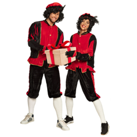 Pieten kostuum HQ rood