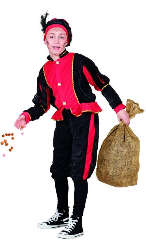 Kinder pieten pakje rood