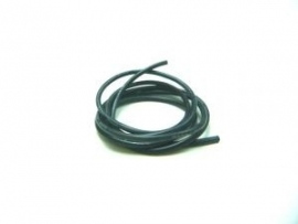 Cable 100cm soft-silicone black 16 (#107249)