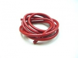 Cable 100cm soft-silicone red 12 (#107244)