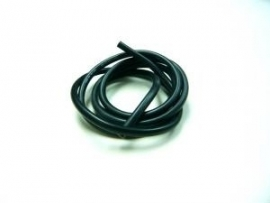Cable 100cm soft-silicone black 14 (#107247)