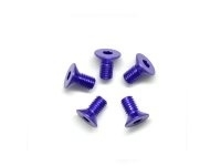 AM-14CS3006-P Alu Screw allen countersunk M3x6 Purple (7075) (5)