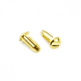 Muchmore LCG Euro Connector (5mm) Male 2pcs. (300)(CE-LCGC5)