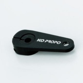 Aluminum Clamp Servo Horn (Black / 2mm)