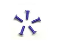 AM-14CS3010-P Alu Screw allen countersunk M3x10 Purple (7075) (5)