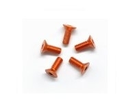 AM-14CS3008-O Alu Screw allen countersunk M3x8 Orange (7075) (5)