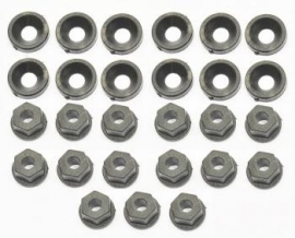 Washer/nut nylon M3 (12+15) (#600126)