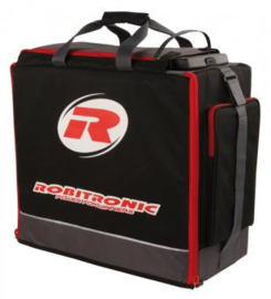Specially designed for 1/8 offroad vehicles, Robitronic proudly presents its new transport bag for your rc gear!Art.No.: R14002