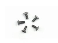 AM-14CS2206-G Alu Screw allen countersunk M2.2x6 Gray (7075) (5)