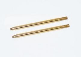 Shock shaft rr TiN coated (2) SRX2 (#500202)