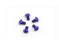 AM-14RH3005-P Alu screw allen roundhead M3X5 Purple (7075) (5)