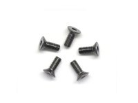 AM-14CS3008-G Alu Screw allen countersunk M3x8 Gray (7075) (5)