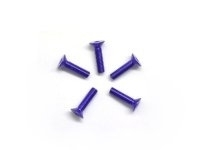 AM-14CS3012-P Alu Screw allen countersunk M3x12 Purple (7075) (5)