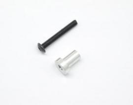 Throttle lever shaft (1) (#600360)