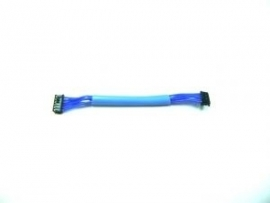 Sensor cable 7cm soft blue (#107231)