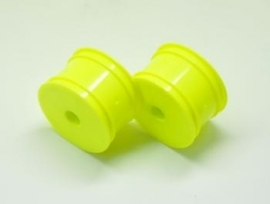 1/10 buggy rim rr yellow (2) (#500106)