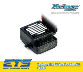 Muchmore Fleta V2 Euro Brushless ESC - Black MM-ME-FLEV2