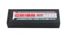 Carbon Pro 6000 100C 7.4V (Tubes)
