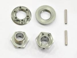Wheelhexagon light -2mm /nut/pin (2 (#600274)