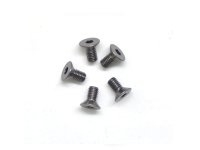 AM-14CS3006-G Alu Screw allen countersunk M3x6 Gray (7075) (5)