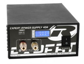 Expert Power Supply 40A, LCD, USB Art.No.: R01021