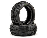 AKA Racing Vektor 2.2 Front 4WD Buggy Tires (2) (Clay)