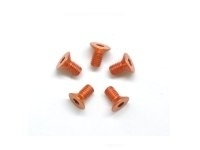 AM-14CS3006-O Alu Screw allen countersunk M3x6 Orange (7075) (5)
