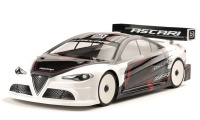 Bitty Design 1/10 Touring ASCARI 190mm Clear Body Lightweight (   BDTC-190ASC)