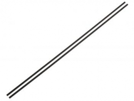 Antenna rods black (2) (#1606)