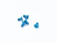 AM-14CS3006-B Alu Screw allen countersunk M3x6 Blue (7075) (5)