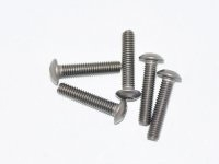 AM-15RH3014 Titanium Screw allen round head M3x14 (5)