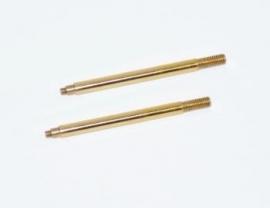 Shock shaft fr TiN coated (2) SRX2 (#500201)