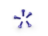 AM-14CH3008-P Alu Screw allen cilinder head M3x8 Purple (7075) (5)
